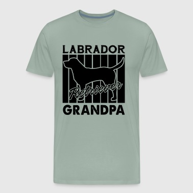 Labrador Retriever Grandpa Shirt - Men's Premium T-Shirt