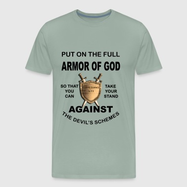 Minister Put On The Full Armor Of God - Men's Premium T-Shirt