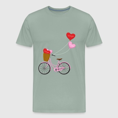Valentine s Day love - Men's Premium T-Shirt