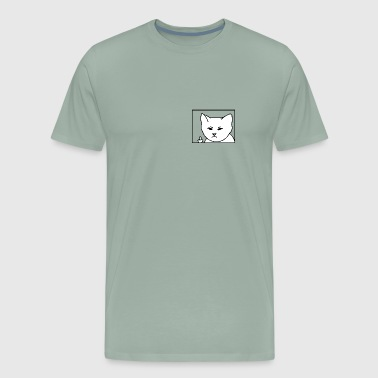 Rudeboy Cat - Men's Premium T-Shirt