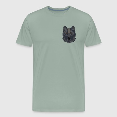 Dark Wolf - Men's Premium T-Shirt