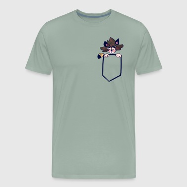 Pocket Edwin - Men's Premium T-Shirt