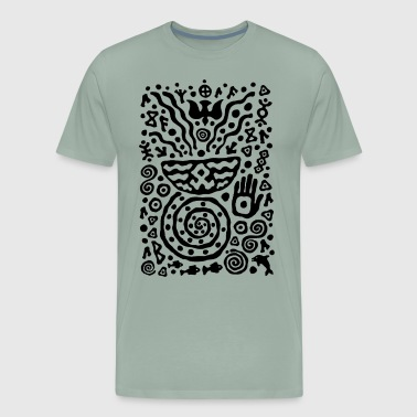 Hands of Talisman by Qenjo - Men's Premium T-Shirt