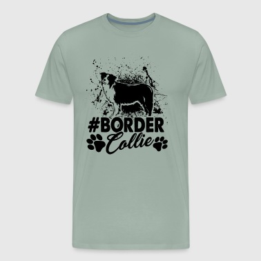 Border Collie Hashtag Shirt - Men's Premium T-Shirt