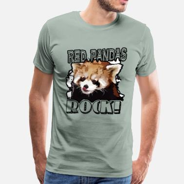 Red Panda Red Panda Shirt - Men's Premium T-Shirt