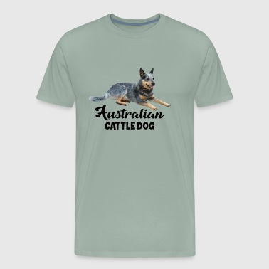 Australian Cattle Dog Shirt - Men's Premium T-Shirt