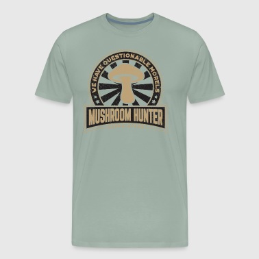 Mushroom Hunter Questionable Morels Gift - Men's Premium T-Shirt