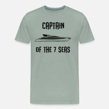Pauli Yacht - CAPTAIN OF THE 7 SEAS - Men's Premium T-Shirt