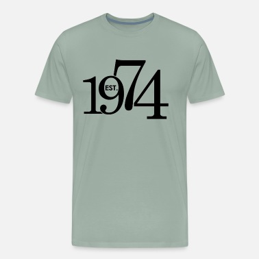 Birthday 1974 Est 1974 - Men's Premium T-Shirt