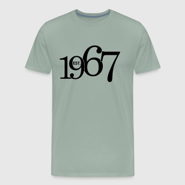 1967 Year Est. 1967 - Men's Premium T-Shirt