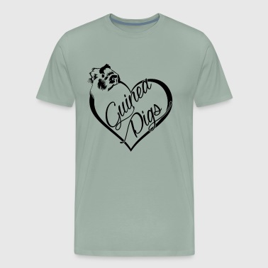 I Love Pigs Guinea Pigs Love Shirt - Men's Premium T-Shirt