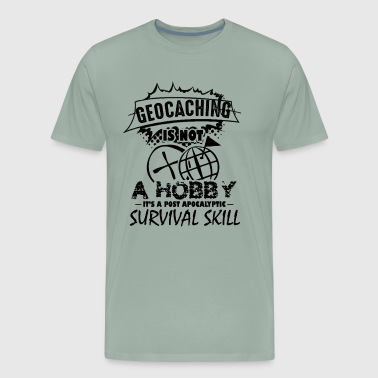 Geocaching Shirt - Geocaching T shirt - Men's Premium T-Shirt