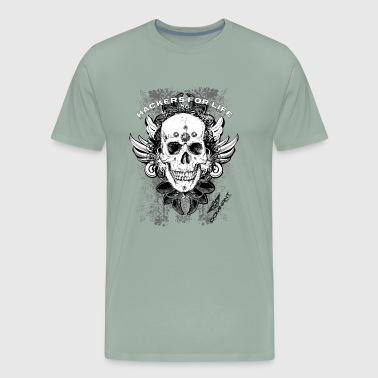 Dominant Gear Hackers for life - Men's Premium T-Shirt