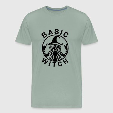 Funny Basic Witch Halloween - Men's Premium T-Shirt