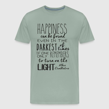 Happiness can be found (...) - Men's Premium T-Shirt