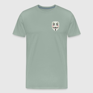 Anonymous face mask - Men's Premium T-Shirt