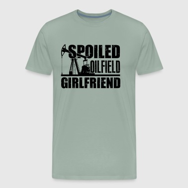Oilfield Shirt - Oilfield Girlfriend T shirt - Men's Premium T-Shirt