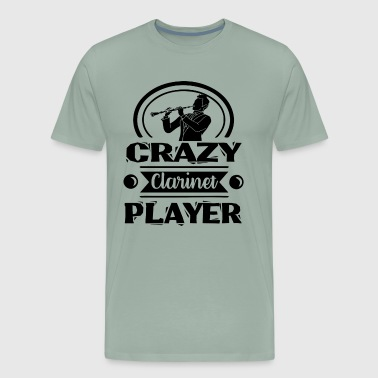 Crazy Clarinet Player Shirt - Men's Premium T-Shirt