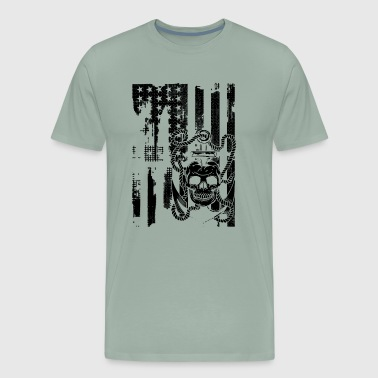 Anchor Flag Shirt - Anchor Flag T shirt - Men's Premium T-Shirt