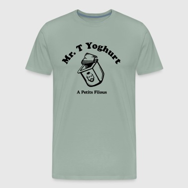 Mr T Yoghurt A Petits Filous - Men's Premium T-Shirt