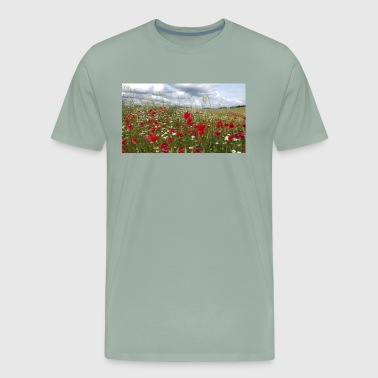 Poppy field forever - Men's Premium T-Shirt