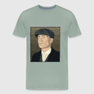Thomas shelby peaky blinder - Men's Premium T-Shirt