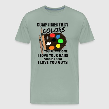 Artsy Complimentary Colors Artist Artsy Graphic Shirt - Men's Premium T-Shirt