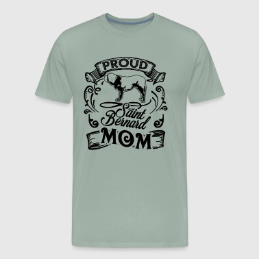Saint Bernard Mom Shirt - Men's Premium T-Shirt