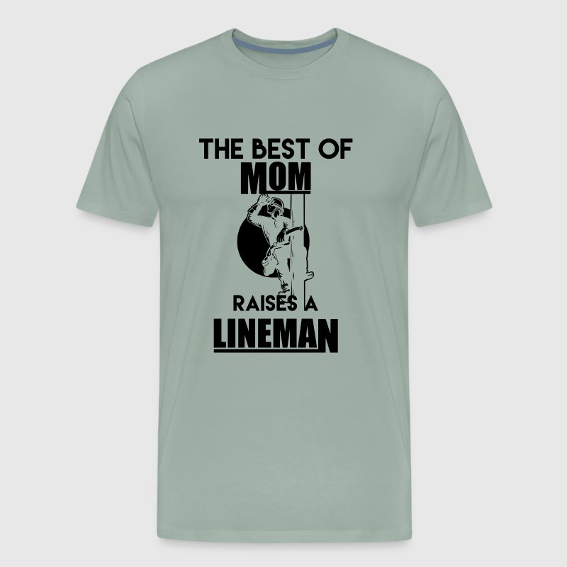 Lineman Mom - Men's Premium T-Shirt