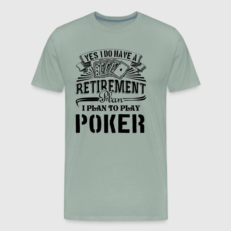 Piano Di Pensionamento Poker T-shirt uDxdwYl