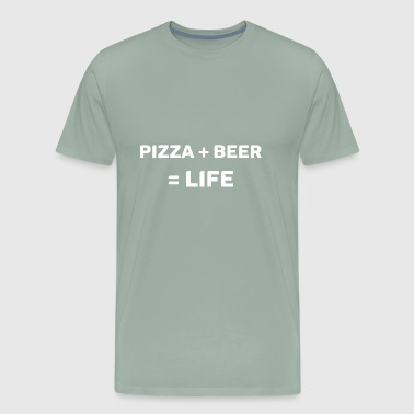 Beer Ideas Pizza Beer Gift Idea - Men's Premium T-Shirt