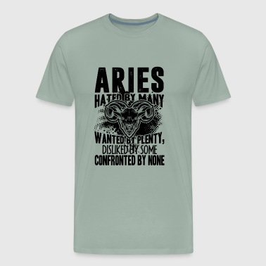 Aries Confronted By None Shirt - Men's Premium T-Shirt