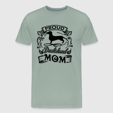 Dachshund Mom Shirt - Men's Premium T-Shirt