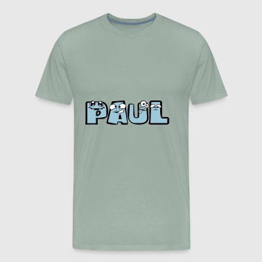 paul first name male child baby offspring pregnant - Men's Premium T-Shirt