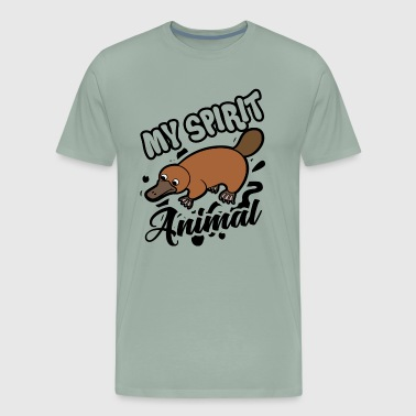 Platypus Is My Spirit Animal Shirt - Men's Premium T-Shirt