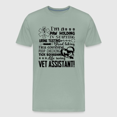 Vet Assistant Life Saving Shirt - Men's Premium T-Shirt