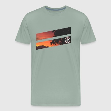 Tropical Beach - Men's Premium T-Shirt