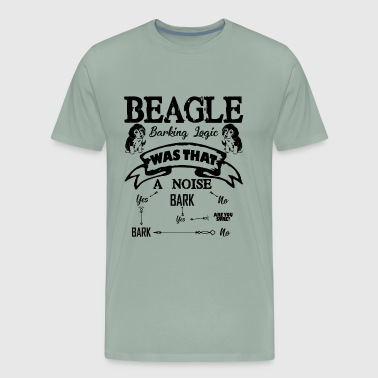 Beagle Barking Logic Shirt - Men's Premium T-Shirt
