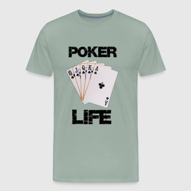 Poker life - Men's Premium T-Shirt