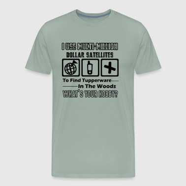 Geocacher Shirt - Geocacher Job T shirt - Men's Premium T-Shirt