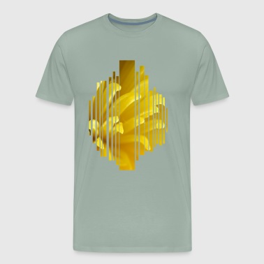 Yellow flower - Men's Premium T-Shirt