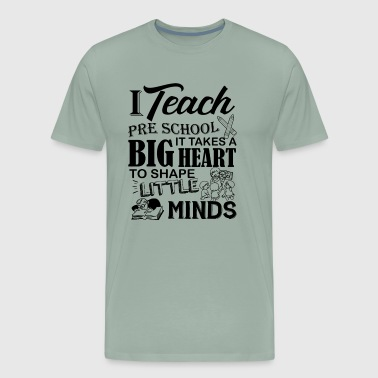 I Teach Preschool Shirt - Men's Premium T-Shirt