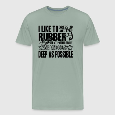 Like Scuba Diving Shirt - Men's Premium T-Shirt
