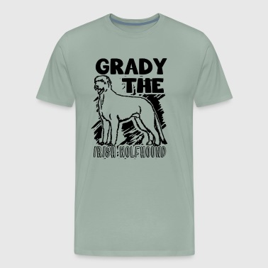 Grady The Irish Wolfhound Shirt - Men's Premium T-Shirt