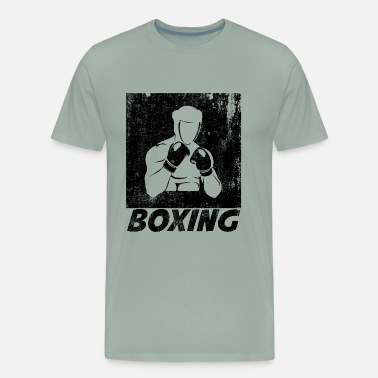 Fighting Fists Boxing - Men's Premium T-Shirt