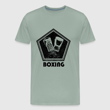 Glove Boxing Boxing - Men's Premium T-Shirt