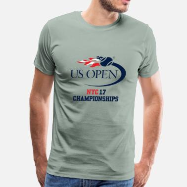 Open nyc us open 2o17 tennis - Men's Premium T-Shirt
