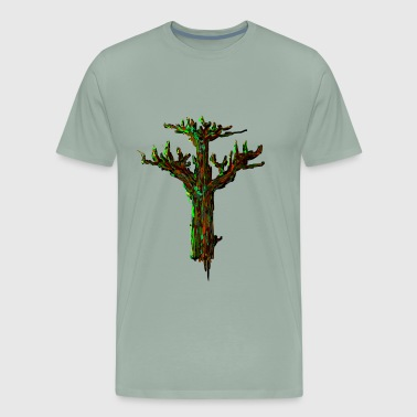 camouflage oak - Men's Premium T-Shirt
