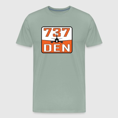 DEN 737 - Men's Premium T-Shirt
