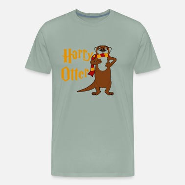 Harry Otter Harry Otter Shirt - Harry Otter T shirt - Men's Premium T-Shirt